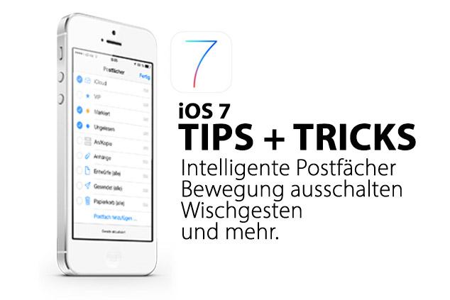 iOS 7 – Tipps und Tricks