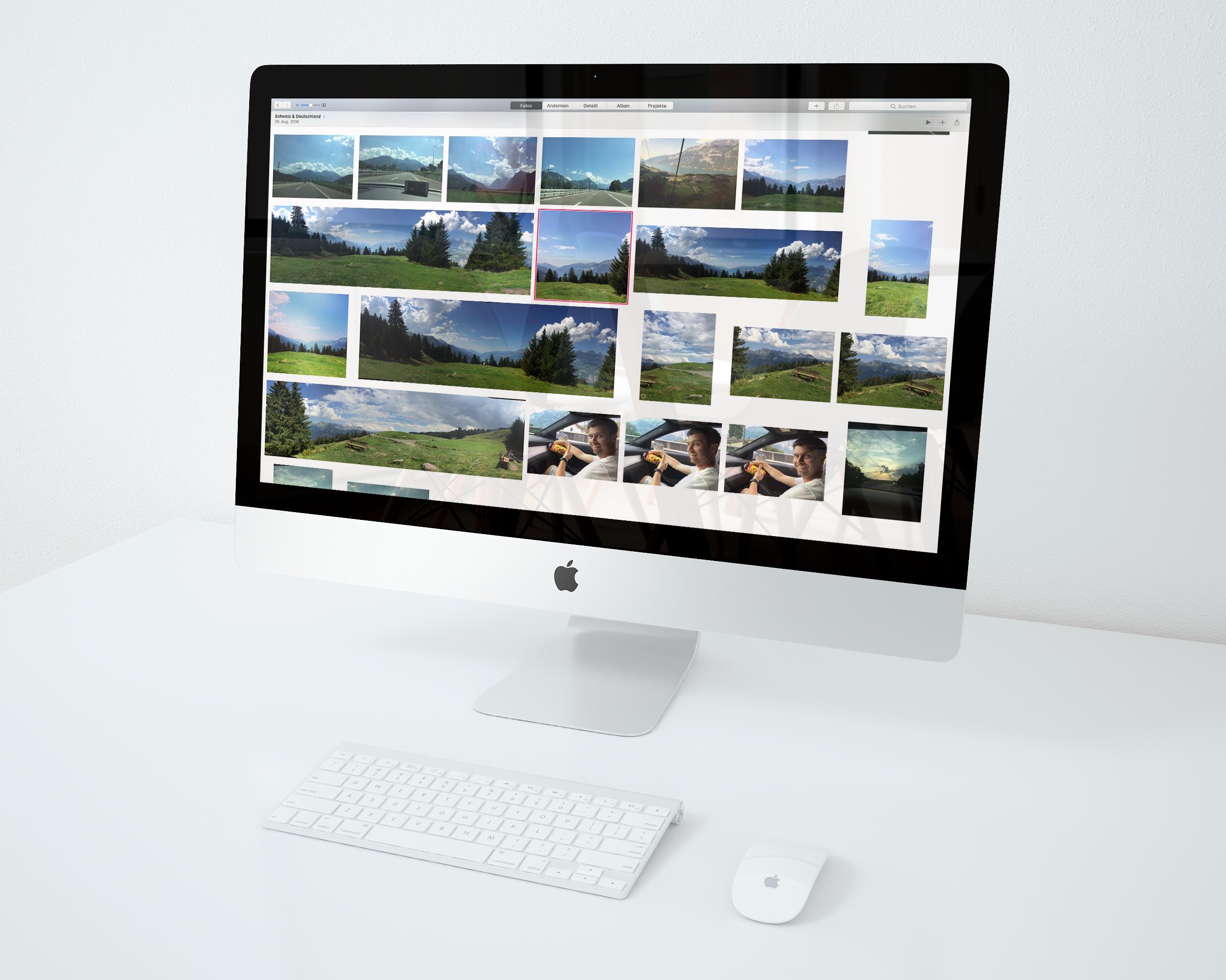 Bilder verwalten mit Apple Fotos