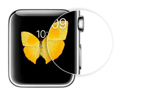 Bildschirmfoto mit der Apple Watch