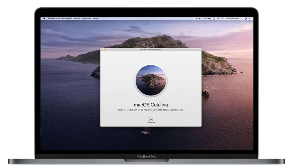 Umstieg auf macOS Catalina