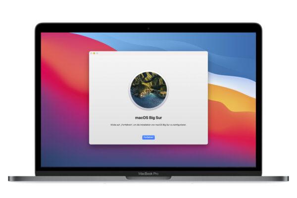 Umstieg auf macOS Big Sur